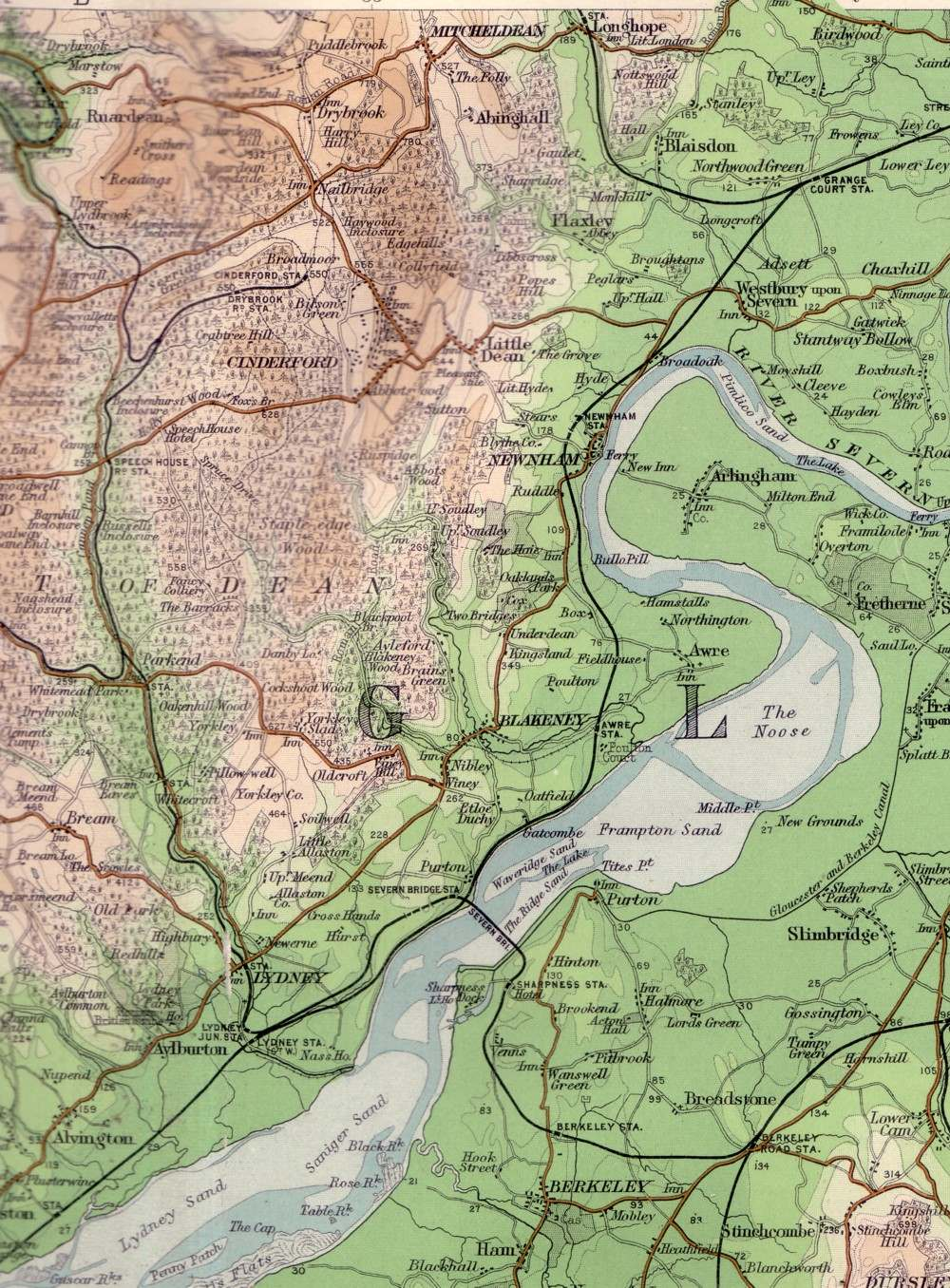 fod map east c1900